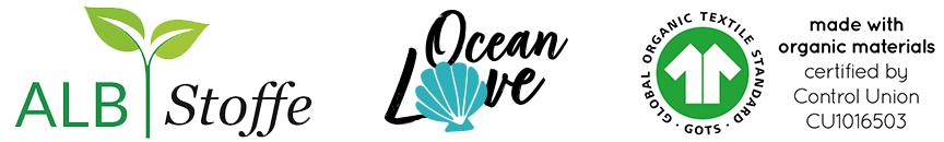 Albstoffe Ocean Love