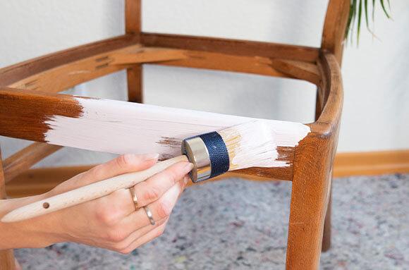 Neu stuhl mit beziehen nieten Stuhl neu